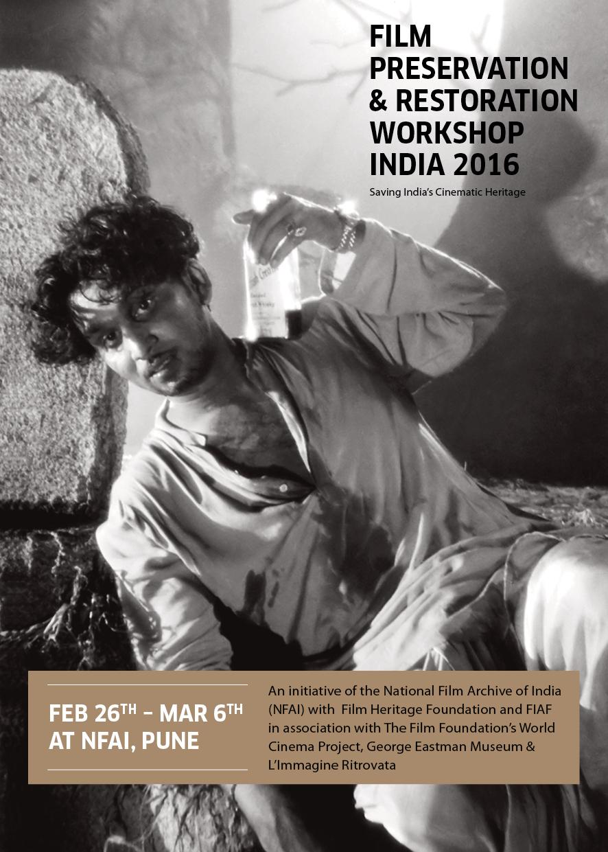 Film Preservation & Restoration Workshop India 2016 - card 2