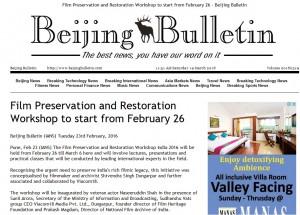 Beijing Bulletin - 23-02-2016