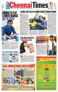 Chennai Times - 08-08-2015 - Page 1