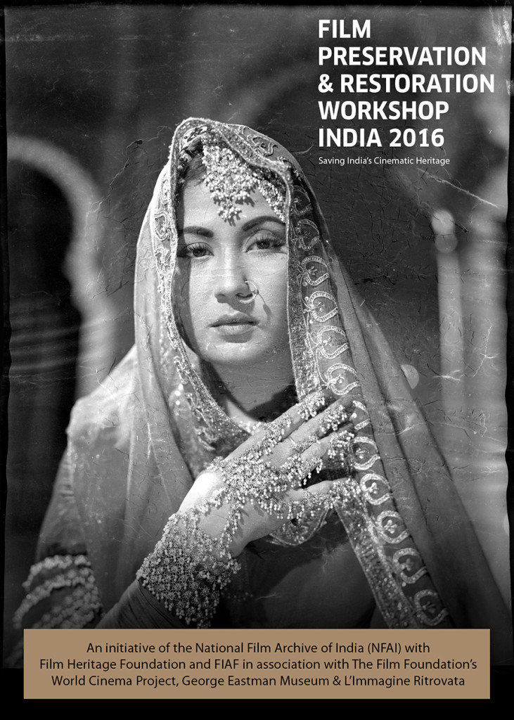 Film Preservation & Restoration Workshop India 2016_Postcard
