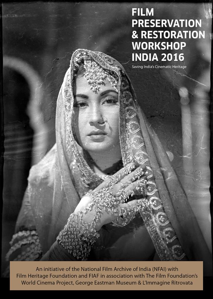 Film Preservation & Restoration Workshop India 2016_Postcard