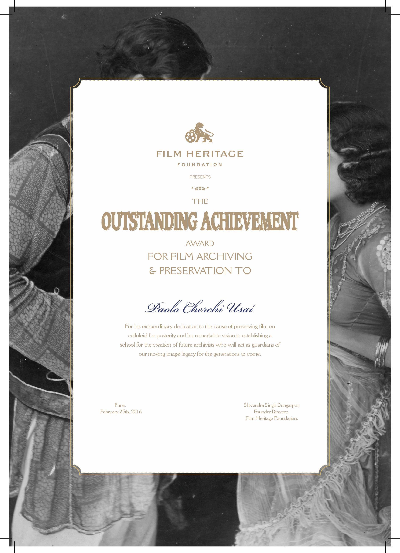 FHF Award
