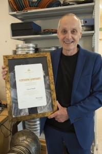 David Walsh - award