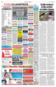 Sunday Time of India - 29-05-2016 - Page 8