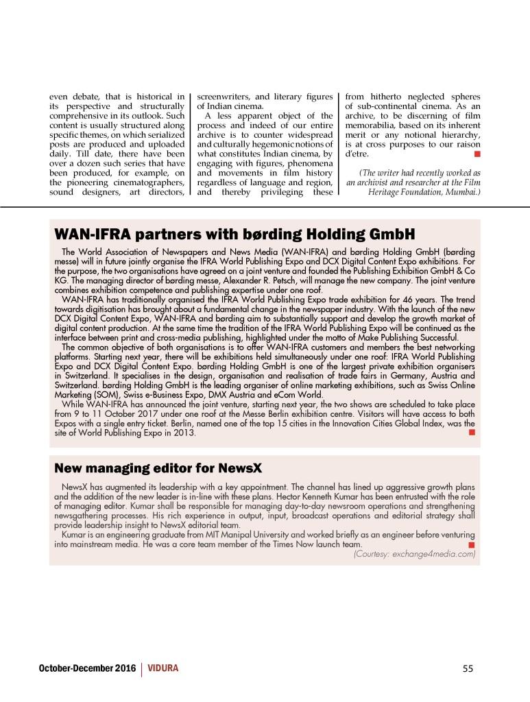 Vidura - OCTDEC 2016 - Page 3