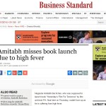 Business Standard Article