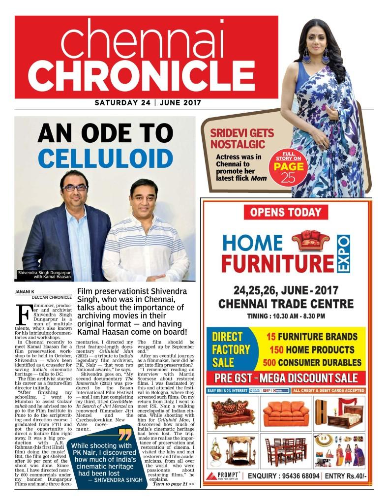 Deccan Chronicle - Chennai - 24-06-2017 - Page 17