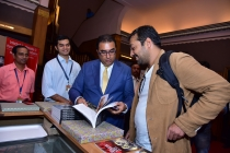4) Anurag Kashyap & Shivendra Singh Dungarpur after the book launch