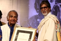 2 - Mr. Bachchan felicitates Mr. P.K.Nair at the Opening Ceremony