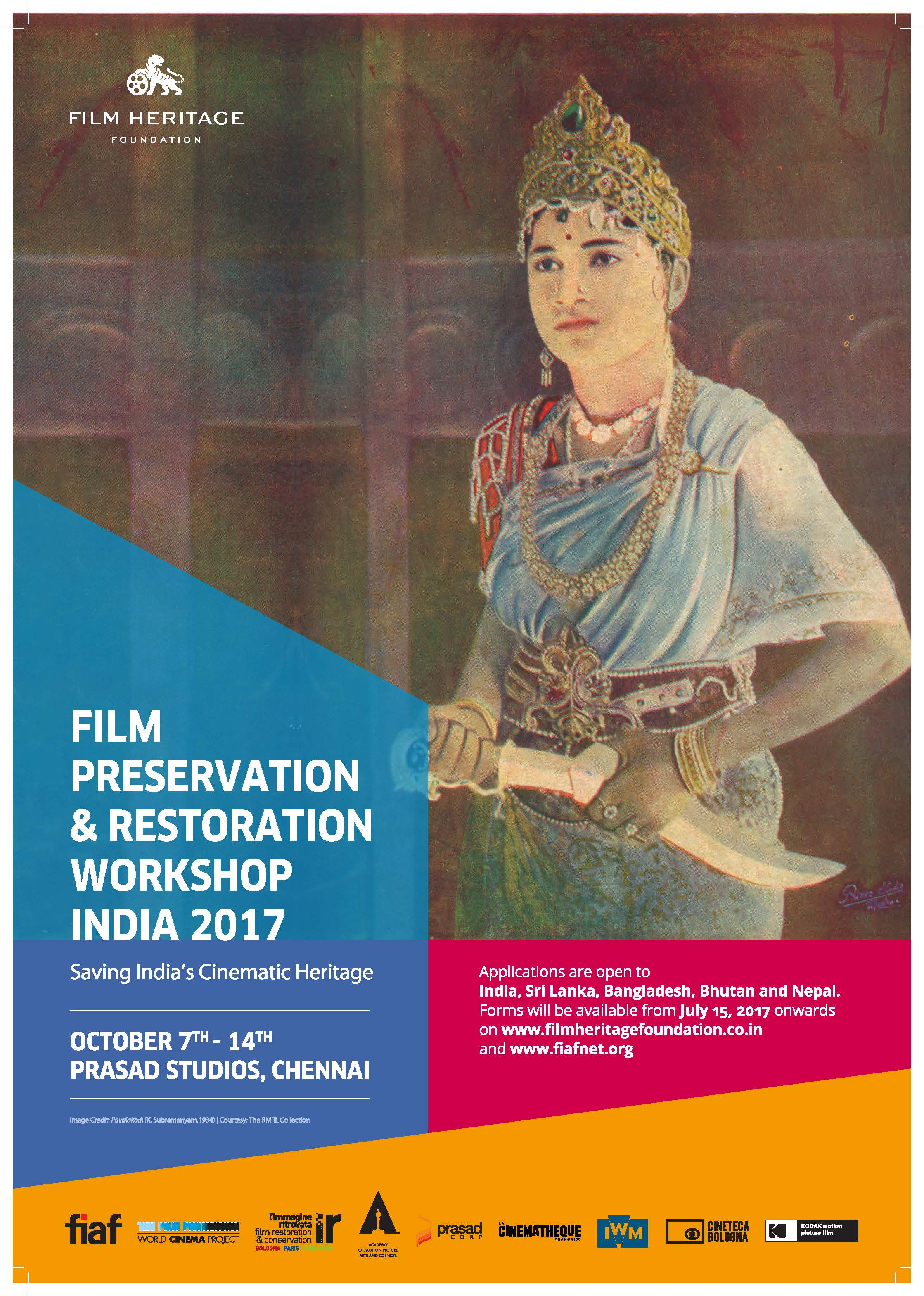 Film Preservation & Restoration Workshop India 2017 - Film